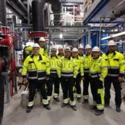 Rørarbeid for Steinvik i Svelgen, i samarbeid med Simona Stadpipe